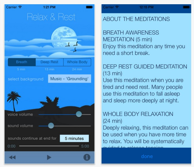 relax-and-rest-app